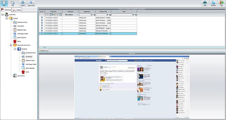 Windows 7 Spyrix Facebook Monitor 4.6 full