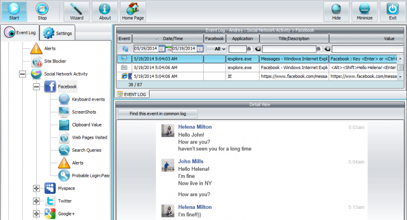 Windows 7 Spyrix Personal Monitor 10.6.2 full