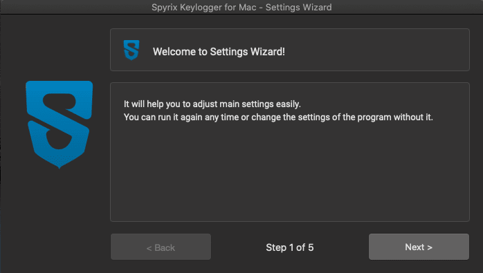 how to install spyrix keylogger for mac