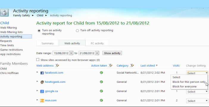 Know The Best Way To Monitor Your Children System Usage On Windows 8