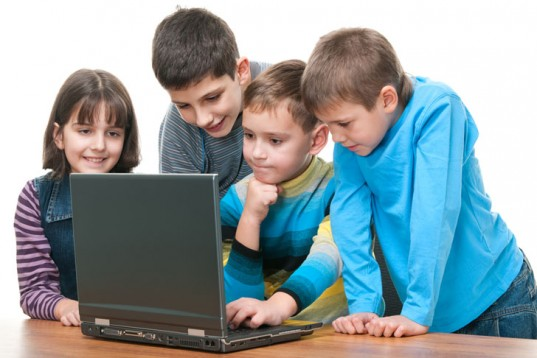Kids and computer