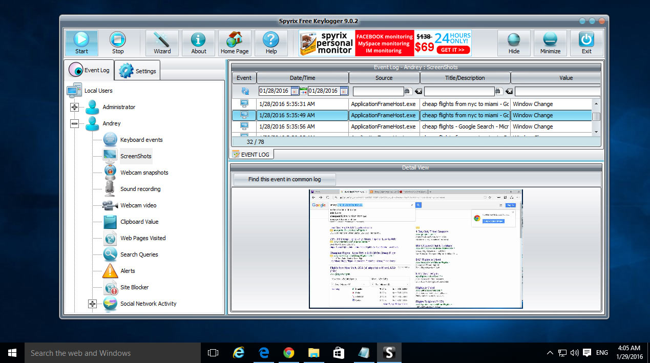 download keylogger untuk windows 7 gratis
